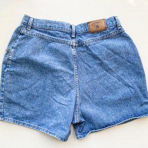 Wrangler Shorts, Vintage Blue Denim Size 14